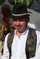Men in Hungarian Regional Gastronomic at the Gastronomic Festival 2009 - Gyor ( Gy?r ) Hungary