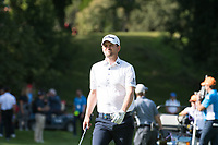 Bernd Wiesberger (AUT) in action on the 8th hole during the first round of the 76 Open D'Italia, Olgiata Golf Club, Rome, Rome, Italy. 10/10/19.<br /> Picture Stefano Di Maria / Golffile.ie<br /> <br /> All photo usage must carry mandatory copyright credit (© Golffile | Stefano Di Maria)