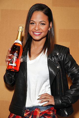 PHILADELPHIA, PA - MARCH 7 :  Christina Milian pictured at her Viva Diva Wines bottle signing at the 2015 Philadelphia Flower Show held at the Philadelphia Convention Center in Philadelphia, Pa on March 7, 2015  photo credit Star Shooter/MediaPunch