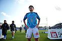 Kazuyoshi Miura (Yokohama FC),.MARCH 25, 2012 - Football /Soccer : 2012 J.LEAGUE Division 2 ,5th sec match between Yokohama FC 0-2 Ventforet Kofu at NHK Spring Mitsuzawa Football Stadium, Kanagawa, Japan. (Photo by Jun Tsukida/AFLO SPORT) [0003].