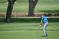 Stewart Cink (USA) hits his approach shot on 9 during 3rd round of the 100th PGA Championship at Bellerive Country Club, St. Louis, Missouri. 8/11/2018.<br /> Picture: Golffile | Ken Murray<br /> <br /> All photo usage must carry mandatory copyright credit (&copy; Golffile | Ken Murray)