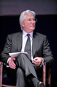 Actor Richard Gere appears at an event where Chen Guangcheng, the blind Chinese legal activist, accepted the Tom Lantos Human Rights Prize in the United States Capitol on January 29, 2013..Credit: Ron Sachs