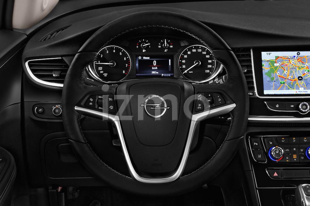 Car pictures of steering wheel view of a 2017 Opel Mokka-X Innovation 5 Door SUV Steering Wheel