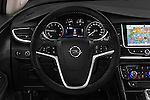 Car pictures of steering wheel view of a 2017 Opel Mokka-X Innovation 5 Door SUV Steering Wheel