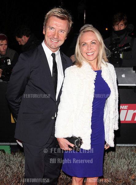 Jayne Torvill and Christopher Dean arriving for The Sun Military Awards, at The Imperial War Museum, London. 06/12/2012 Picture by: Alexandra Glen / Featureflash