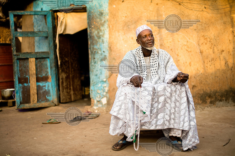 Afa Dauda, a traditional healer, at his home in Nyankpala. In Ghana, mental illness is typically seen as having a spiritual cause, and so for many traditional or faith healers are often the first point of call. As for many Ghanaians, traditional animist beliefs sit alongside his conventional faith - Islam, in this instance - and this is reflected in his treatments. In a country of 24 million, Ghana has only 12 public psychiatrists, but approximately 45 000 traditional healers.