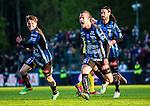 ***BETALBILD***  <br /> Uppsala 2015-05-21 Fotboll Superettan IK Sirius - Mj&auml;llby AIF :  <br /> Sirius Erik Figueroa firar sitt 1-0 m&aring;l under matchen mellan IK Sirius och Mj&auml;llby AIF <br /> (Foto: Kenta J&ouml;nsson) Nyckelord:  Superettan Sirius IKS Mj&auml;llby AIF jubel gl&auml;dje lycka glad happy