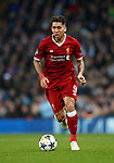 Liverpool's Roberto Firmino in action during the Champions League Quarter Final 2nd Leg match at the Etihad Stadium, Manchester. Picture date: 10th April 2018. Picture credit should read: David Klein/Sportimage