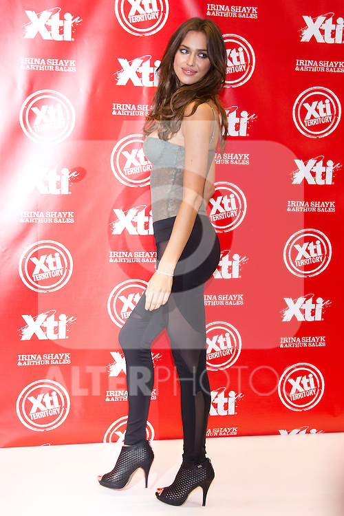 Irina Shayk and Arthur Sales promote XTI shoes at modacalzado fery in Madrid, March 14th 2011...Photo: Miguel Cordoba / ALFAQUI