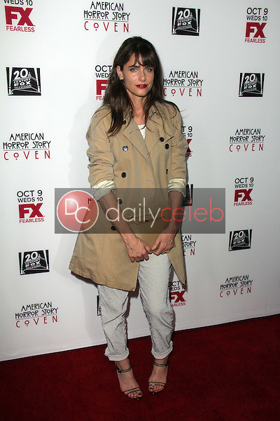 """Amanda Peet<br /> at the """"American Horror Story Coven"""" Red Carpet Event, Pacific Design Center, West Hollywood, CA 10-05-13<br /> David Edwards/Dailyceleb.com 818-249-4998"""