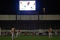 SÃO PAULO,SP,27 JULHO 2013 - CAMPEONATO BRASILEIRO - POTUGUESA x ATLETICO PR - Homenagem ao Ex Jogador Dijama Santos  antes da  partida entre Portuguesa x Atletico PR em jogo válido pela 09º rodada do Campeonato Brasileiro no Estadio  Doutor Osvaldo Teixeira Duarte (Canindé) na noite deste sabado (27).FOTO ALE VIANNA - BRAZIL PHOTO PRESS.