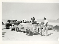 Throttle Mercant Member Earl Gerard's Photo collection From the california Dry Lakes to Bonniville Salt Flats.