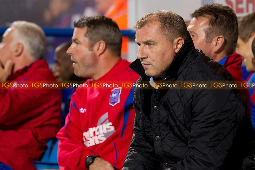 Paul Jewell, Manager, Ipswich Town FC - Ipswich Town vs Wolverhampton Wanderers - NPower Championship Football at Portman Road, Ipswich, Suffolk - 19/09/12 - MANDATORY CREDIT: Ray Lawrence/TGSPHOTO - Self billing applies where appropriate - 0845 094 6026 - contact@tgsphoto.co.uk - NO UNPAID USE.