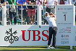 Pablo Larrazabal of Spain tees off the first hole during the 58th UBS Hong Kong Golf Open as part of the European Tour on 10 December 2016, at the Hong Kong Golf Club, Fanling, Hong Kong, China. Photo by Marcio Rodrigo Machado / Power Sport Images