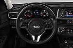 Car pictures of steering wheel view of a 2016 KIA Optima LX Turbo 4 Door Sedan