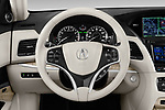 Car pictures of steering wheel view of a 2018 Acura RLX - 4 Door Sedan Steering Wheel