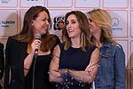 "(LtoR) Singers Nina Pastori, Soledad Pastorutti ""La Sole"" and Marcela Morelo during the press conference and rehearsal of Festival Unicos. September 22, 2019. (ALTERPHOTOS/Johana Hernandez)"