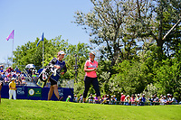 Brooke M. Henderson (CAN) departs the first tee during Sunday's final round of the 2017 KPMG Women's PGA Championship, at Olympia Fields Country Club, Olympia Fields, Illinois. 7/2/2017.<br /> Picture: Golffile | Ken Murray<br /> <br /> <br /> All photo usage must carry mandatory copyright credit (&copy; Golffile | Ken Murray)