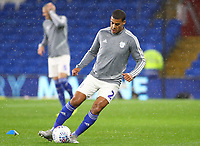 26th November 2019; Cardiff City Stadium, Cardiff, Glamorgan, Wales; English Championship Football, Cardiff City versus Stoke City; Lee Peltier of Cardiff City during warm up - Strictly Editorial Use Only. No use with unauthorized audio, video, data, fixture lists, club/league logos or 'live' services. Online in-match use limited to 120 images, no video emulation. No use in betting, games or single club/league/player publications