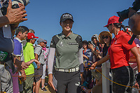 Sung Hyun Park (KOR) celebrates winning the Volunteers of America LPGA Texas Classic, at the Old American Golf Club in The Colony, Texas, USA. 5/6/2018.<br /> Picture: Golffile | Ken Murray<br /> <br /> <br /> All photo usage must carry mandatory copyright credit (&copy; Golffile | Ken Murray)