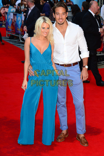 Danielle Armstrong, James Lock<br /> attends the 'What If'  of 'What If' at Odeon West End cinema  on August 12, 2014 in London, England<br /> CAP/JOR<br /> &copy;Nils Jorgensen/Capital Pictures