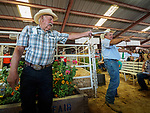 54th annual Junior Livestock Auction during Sunday at the 80th Amador County Fair, Plymouth, Calif.<br /> Doug Joses and Leland Schneider<br /> .<br /> .<br /> .<br /> .<br /> #AmadorCountyFair, #1SmallCountyFair, #PlymouthCalifornia, #TourAmador, #VisitAmador