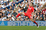 Lucas Leiva of Liverpool in action during the Barclays Premier League match at The Hawthorns.  Photo credit should read: Malcolm Couzens/Sportimage