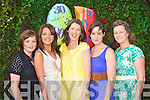 BIRTHDAY GIRL: Oonagh Harrington, Ballyduff enjoying a great time celebrating her 30th with family and friends at Cassidy's restaurant, Tralee on Tuesday l-r: Sinead Kirby, Martina Sheehan, Oonagh Harrington, Catriona Pyne and Trish McCarthy.