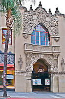 Historical Santora Arts Building in Downtown Santa Ana