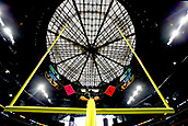 January 8th 2018, Atlanta, GA, USA; A view of the goal posts prior to the National Championship game between the Georgia Bulldogs and the Alabama Crimson Tide at Mercedes-Benz Stadium on January 8, 2018, in Atlanta, GA.  (Photo by David J. Griffin/Icon Sportswire)