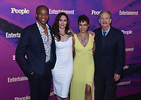 NEW YORK, NEW YORK - MAY 13: J. August, Sarah Wayne Callies, Michele Weaber and Michael O'Neil attend the People & Entertainment Weekly 2019 Upfronts at Union Park on May 13, 2019 in New York City. <br /> CAP/MPI/IS/JS<br /> ©JS/IS/MPI/Capital Pictures