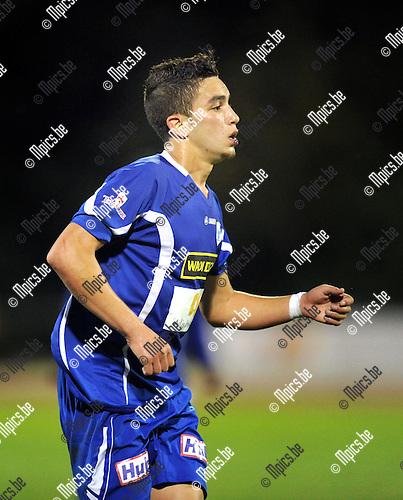 2013-08-15 / Voetbal / seizoen 2013-2014 / KV Turnhout / Mohamed Mezghrani<br /><br />Foto: Mpics.be