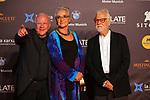 51 Festival Internacional de Cinema Fantastic de Catalunya-Sitges 2018.<br /> Closing Ceremony Gala-Red Carpet<br /> Douglas Trumbull, Katharina Kubrick &amp; Jan Harlan.