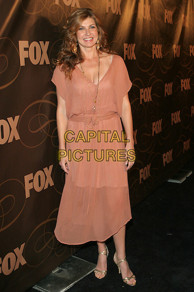 CONNIE BRITTON.FOX January 2006 TCA Party held at Citizen Smith, Hollywood, California..January 17th, 2006.Photo: Zach Lipp/AdMedia/Capital Pictures.Ref: ZL/ADM.full length pink dress sheer.www.capitalpictures.com.sales@capitalpictures.com.© Capital Pictures.