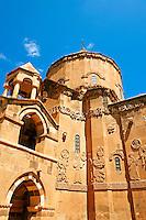 10th century Armenian Orthodox Cathedral of the Holy Cross on Akdamar Island, Lake Van Turkey 92