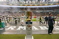 Trophäe des German Bowl steht bereit in der Frankfurter Commerzbank Arena - 12.10.2019: German Bowl XLI Braunschweig Lions vs. Schwäbisch Hall Unicorns, Commerzbank Arena Frankfurt