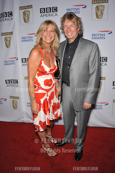 Nigel Lythgoe & wife Bonnie at BAFTA/LA's sixth annual TV Tea Party to celebrate the Emmys at the Intercontinental Hotel, Century City..September 20, 2008  Los Angeles, CA.Picture: Paul Smith / Featureflash