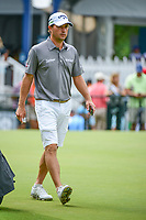 Kevin Kisner (USA) arrives at the practice green during Wednesday's preview of the PGA Championship at the Quail Hollow Club in Charlotte, North Carolina. 8/9/2017.<br /> Picture: Golffile | Ken Murray<br /> <br /> <br /> All photo usage must carry mandatory copyright credit (&copy; Golffile | Ken Murray)