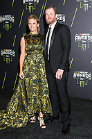 LAS VEGAS, NV - NOVEMBER 30: Amy Earnhardt and Dale Earnhardt Jr. arriving to the 2017 NASCAR Sprint Cup Awards at The Wynn Hotel & Casino in Las Vegas, Nevada on November 30, 2017. Credit: Damairs Carter/MediaPunch /NortePhoto NORTEPHOTOMEXICO