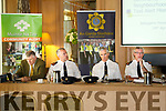 Kerry Garda Divisional community alert, Neighbourhood Watch and Text Alert meeting at Ballygarry House Hotel on Monday. Pictured l-r Diarmuid Cronin, Muintir na Tire, Superintendent Daniel Keane, Killarney Superintendent Flor Murphy, Tralee Superintendent Jim O'Connor