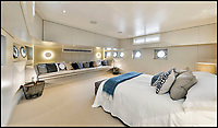 BNPS.co.uk (01202 558833)<br /> Pic:  Riverhomes/BNPS<br /> <br /> Huge main bedroom...<br /> <br /> Float your boat? - stunning floating home in the heart of Chelsea comes to market.<br /> <br /> A stunning houseboat moored on the Thames at Chelsea embankment has gone on the market for &pound;1.75m.<br /> <br /> The two bedroom luxury floating home, called Walter Greaves, has all the trappings of a penthouse apartment.<br /> <br /> It was designed, built and finished by the Chelsea Yacht and Boat Company and features a contemporary open-plan design.<br /> <br /> A similar sized two-bed flat overlooking the Chelsea Embankment costs about &pound;3m, making the houseboat a relative bargain.