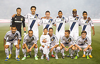 CARSON, CA - May 26, 2012: LA Galaxy starting line up for the LA Galaxy vs Seattle Sounders match at the Home Depot Center in Carson, California. Final score, LA Galaxy 4, Seattle Sounders 0.