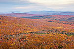 Autumn sunrise at the Height-of-Land Overlook in Rangeley, ME, USA