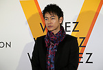 """April 21, 2016, Tokyo, Japan - Japanese actor Takeru Sato smiles during a photo call for the reception of Louis Vuitton's art exhibition in Tokyo on Thursday, April 21, 2016. French luxury barnd Luis Vuitton will hold the exhibition """"Volez, Voguez, Voyagez"""" in Tokyo from April 23 through June 19.  (Photo by Yoshio Tsunoda/AFLO) LWX -ytd-"""