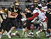 Nick Teresky #21 of Wantagh rushes for a gain during the Nassau County football Conference III semifinals against South Side at Shuart Stadium in Hempstead on Saturday, Nov. 10, 2018.