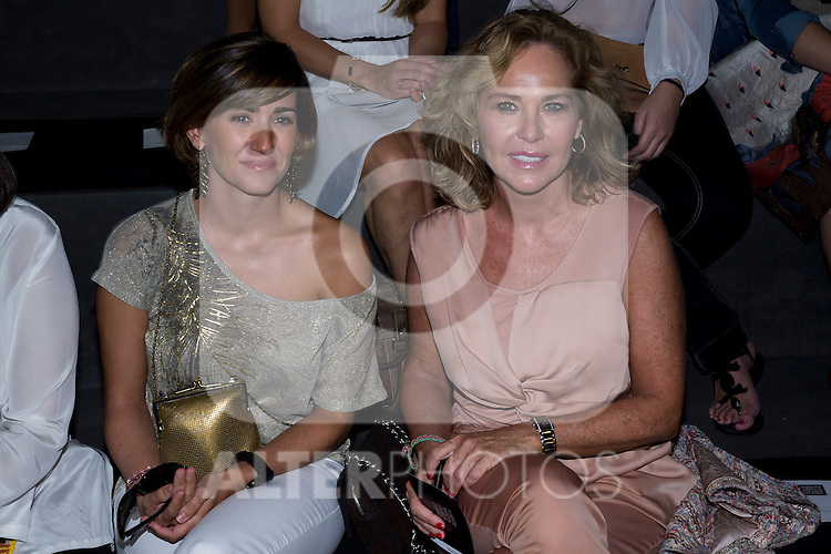 02.09.2012. Celebrities attending the Roberto Torretta fashion show during the Mercedes-Benz Fashion Week Madrid Spring/Summer 2013 at Ifema. In the image (L-R) Alejandra Martos and Ana Rodriguez (Alterphotos/Marta Gonzalez)