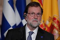 Mariano Rajoy<br /> Roma 10/01/2018. 4° Vertice dei paesi del sud dell'Unione Europea<br /> Rome January 10th 2018. 4th Summit of the southern EU Countries<br /> Foto Samantha Zucchi Insidefoto