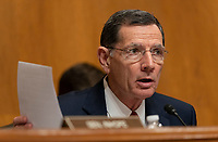 United States Senator John Barrasso (Republican of Wyoming) participates in a hearing held by the United States Senate Committee on Environment and Public Works to confirm Andrew Wheeler be Administrator of the Environmental Protection Agency January 16, 2019, on Capitol Hill in Washington, DC. Credit: Chris Kleponis / CNP /MediaPunch