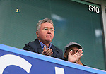 Chelsea's Guus Hiddink looks on with Didier Drogba <br /> <br /> Barclays Premier League- Chelsea vs Sunderland - Stamford Bridge - England - 19th December 2015 - Picture David Klein/Sportimage