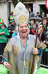 17-3-2014: Another St Patrick during the St. Patrick's Day Parade in Killarney County Kerry on Monday.<br /> Picture by Don MacMonagle